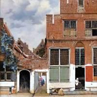 Straatje van Vermeer delft