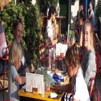 Terras Delft restaurant kinderen